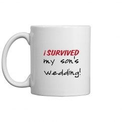 Survived son's wedding