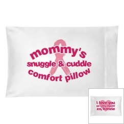 Cancer awareness pillow