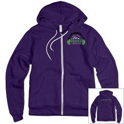 Purple Unisex Hoodie