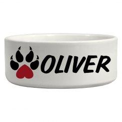 Oliver, Dog Bowl
