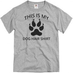 Dog hair shirt