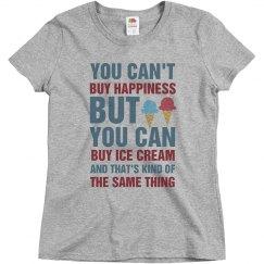 Happiness and Ice Cream