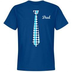 Dad Blue Neck Tie
