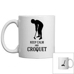 keep calm and croquet