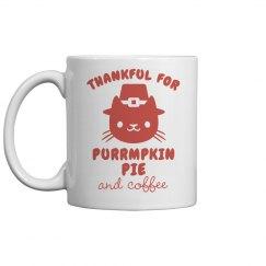 Coffee & Pumpkin Pie Mug