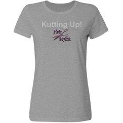 Kutting up Grey/bling