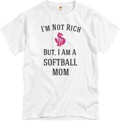 I'm a softball mom