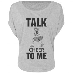 Talk cheer to me