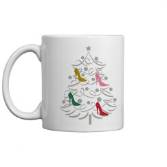 Christmas Shoe tree Mug