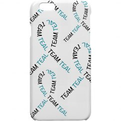 Team Teal iPhone Case