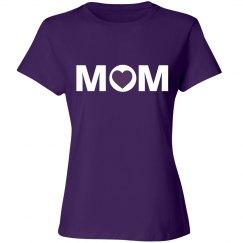 Purple Mom Tshirt