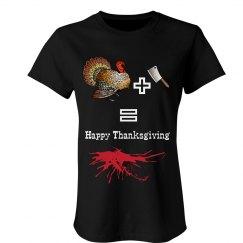 Turkey plus Meat Cleaver