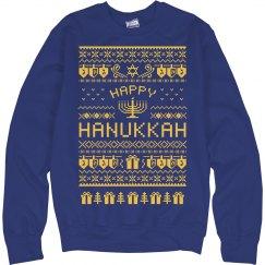 Happy Hanukkah Sweater!