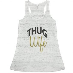 Thug Wife Racerback Tank