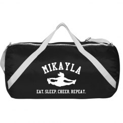 Eat, Sleep, Cheer Bag