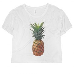 Pineapple croptop