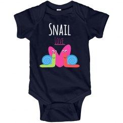 snail love onesie