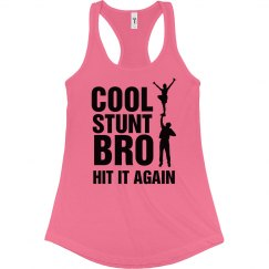 Cheer Cool Stunt Bro Tank