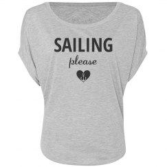 Sailing please shirt