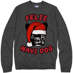 Santa Dog Ugly Sweater