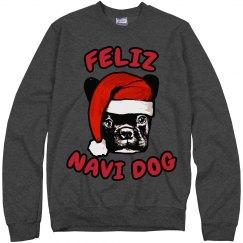 Santa Dog Ugly Sweater