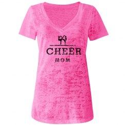 Cheer Mom Shirt Pink
