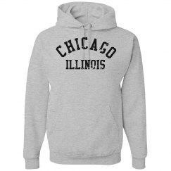 Chicago Illinois Hoodie