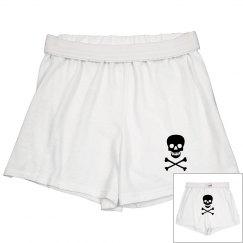 Front & Back Skull Shorts