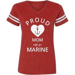 Proud mom of a marine