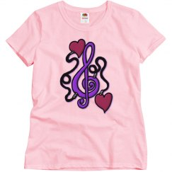 Plugged In To Music Tee