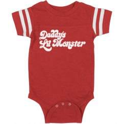 Daddy's Baby Lil' Monster Onesie