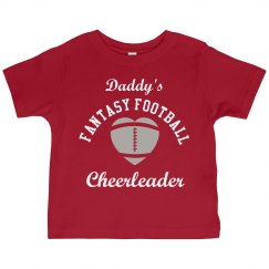 Daddy's Football Cheerleader