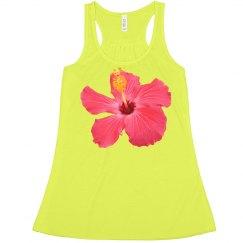 Tropical Neon Flower
