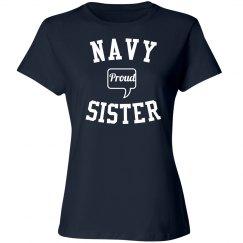 Proud navy sister