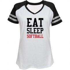 Eat sleep Softball