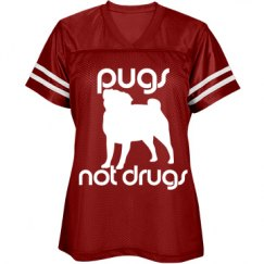 Pugs Not Drugs Jersey