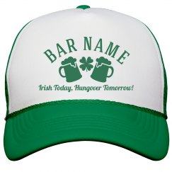 Custom Irish Bar/Pub Gear Hat