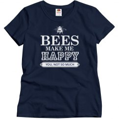 Bees make me happy
