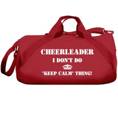 """I don't do """"keep calm"""" thing"""