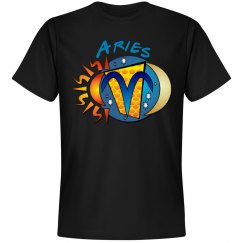 Aries Birth Sign Tee