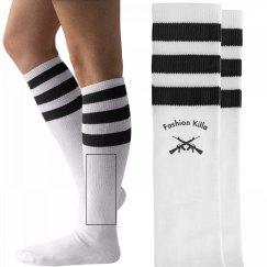 FK 3 Stripe Socks