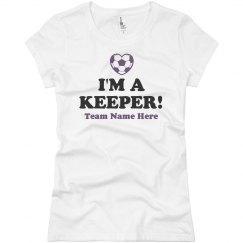 I'm A Keeper Soccer