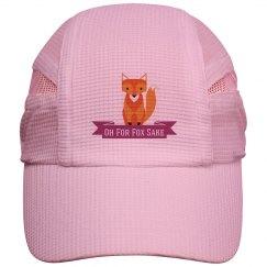 Fox Running Cap pink