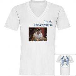 Chris's Memorial Shirt