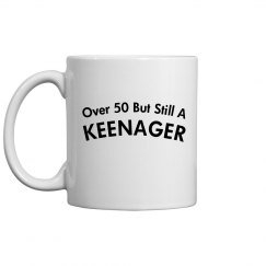over 50 still a keenager