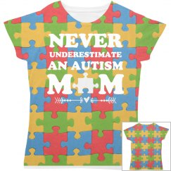 All Over Print Autism Mom
