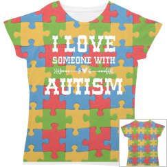 Autism Speaks All Over Print