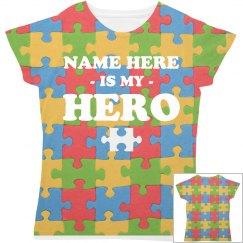 Custom Autism Hero