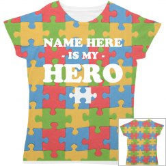 Custom Autism Hero