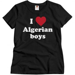 I love Algerian boys!